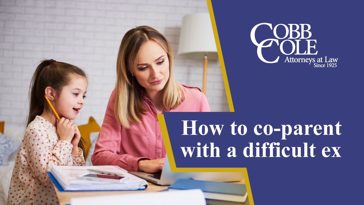 How to co-parent with a difficult ex