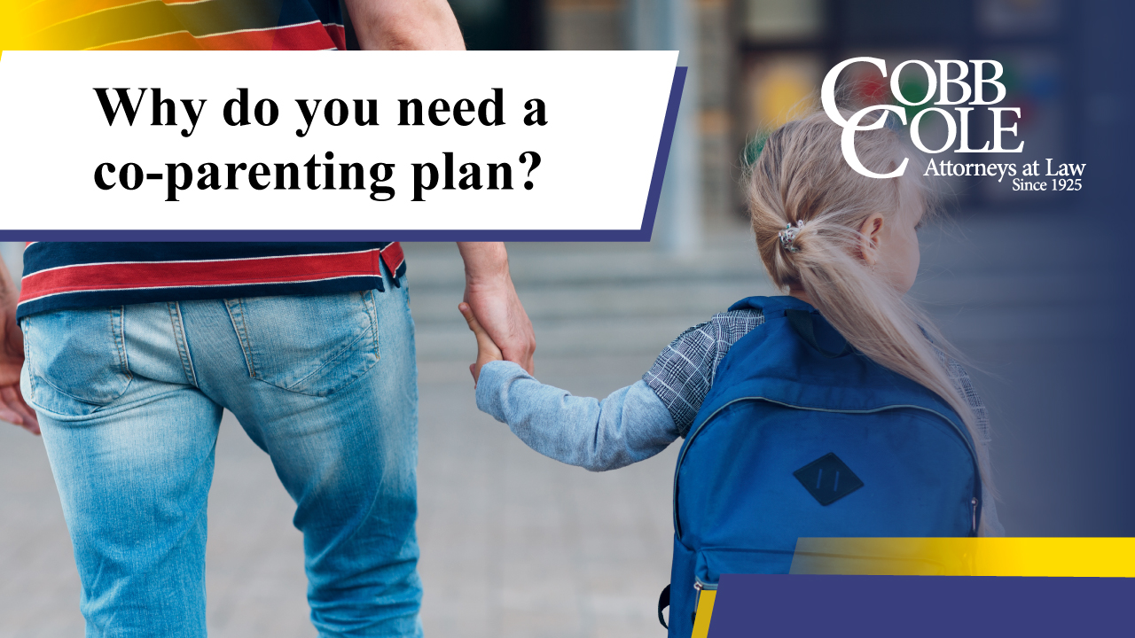 Why do you need a co-parenting plan?
